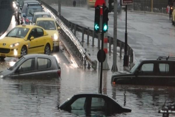 Πλημμύρες απειλούν την Αττική: Οι εννέα περιοχές που κινδυνεύουν!