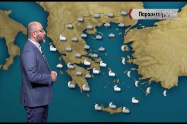 Προειδοποίηση από τον Σάκη Αρναούτογλου: Έρχεται νέα επιδείνωση του καιρού! Που θα «χτυπήσει» η κακοκαιρία; (Video)