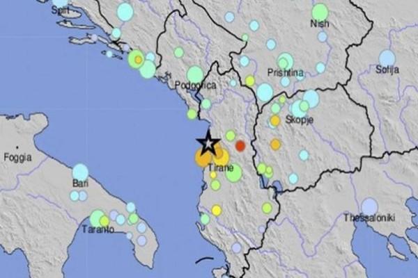 Ισχυρός σεισμός 6,4 Ρίχτερ στην Αλβανία! Τρόμος σε Κέρκυρα και Γιάννενα
