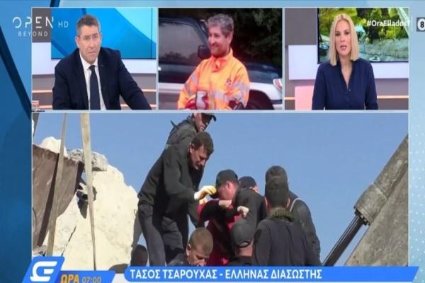 Σεισμός στην Αλβανία: Έλληνες εθελοντές στο Δυρράχιο αναζητώντας ζωή στα συντρίμμια! (Video)