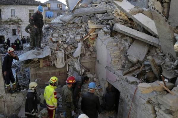 Σεισμός στην Αλβανία: