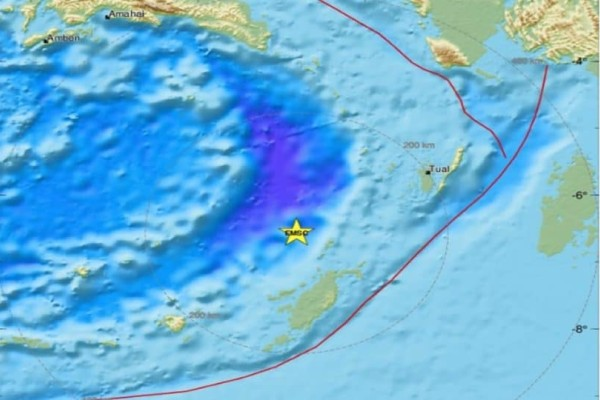 Ισχυρός σεισμός 5 Ρίχτερ στην Ινδονησία!