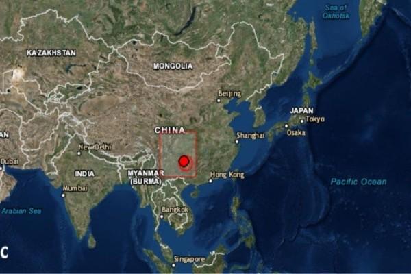 Σεισμός 5,2 Ρίχτερ στην Κίνα! (photo)