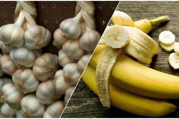 Φάτε σκόρδο με μπανάνα και περιμένετε 15 λεπτά! Θα σωθείτε!