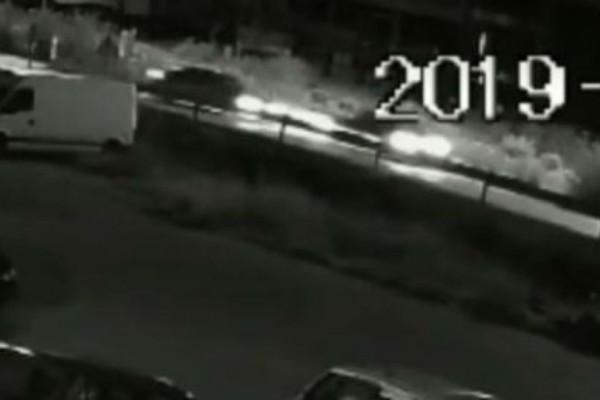 Βίντεο σοκ: Κάμερα καταγράφει το μοιραίο τροχαίο στην Λαμία!