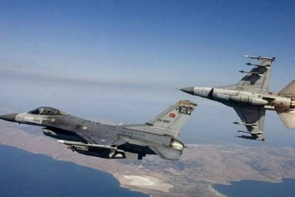 Νέες τουρκικές προκλήσεις στο Αιγαίο: Μαχητικά αεροσκάφη πάνω από Μακρονήσι και Ανθρωποφάγους!
