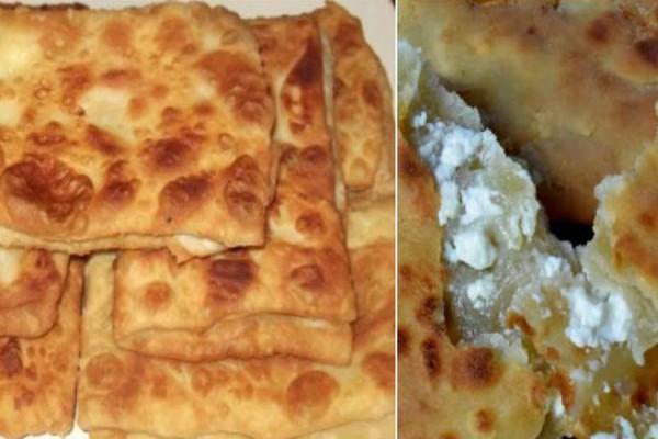 Γκιουζλεμέδες ή Τυροπιτάρι, ή τηγανητή τυρόπιτα της Εύβοιας