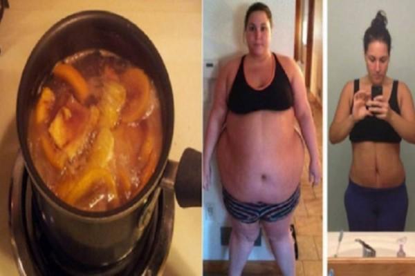 Τρομερό: Έβαλε απλά νερό με κανέλα και έχασε όλα τα κιλά που την ''βασάνιζαν'' χρόνια!