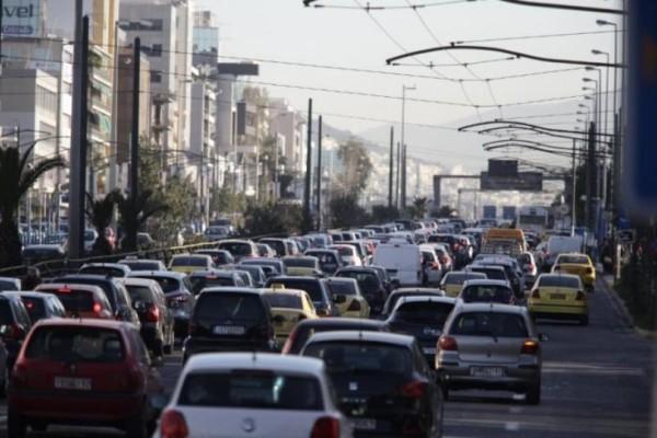 Αυξημένη κίνηση στην Αθήνα: Δείτε ποιους δρόμους να αποφύγετε! (photo)