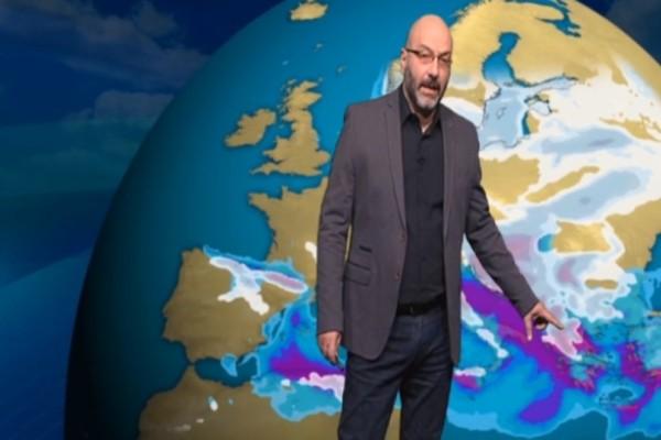 Σάκης Αρναούτογλου: Έρχεται «χιονόβροχο με σκαμπανεβάσματα»! (photo)