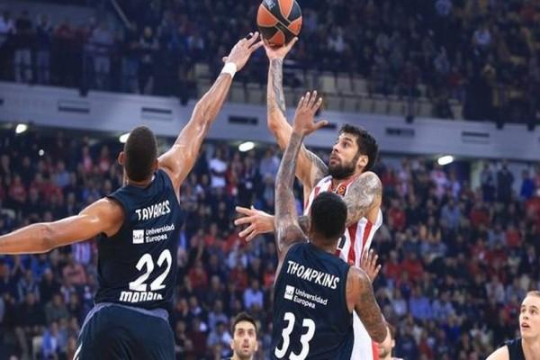 Euroleague: Χωρίς τον αρχηγό του για το θαύμα στη Μαδρίτη ο Ολυμπιακός!