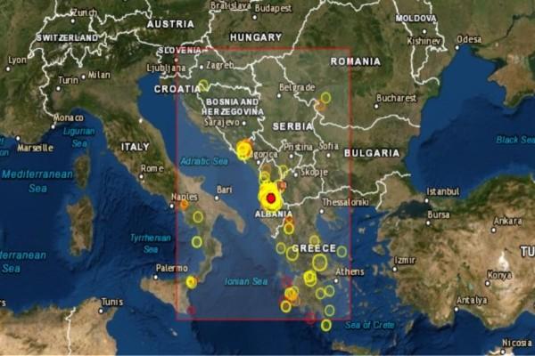Σεισμός 4,4 Ρίχτερ στην Αλβανία!