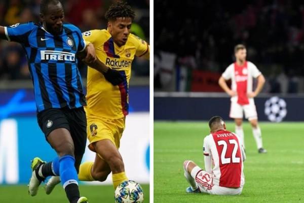 Champions League: Βόμβα στο Άμστερνταμ, εφιάλτης στο Μιλάνο! Όλα τα γκολ της βραδιάς!