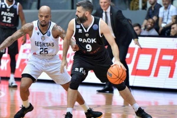 Basketball Champions League: Αναμενόμενη ήττα του ΠΑΟΚ στην Πόλη!