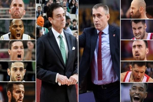 Euroleague: Αυτοί θα σφυρίξουν το ντέρμπι Παναθηναϊκός-Ολυμπιακός! (photo)