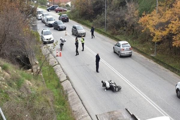Τροχαίο στα Τρίκαλα: Άνδρες της ομάδας ΔΙΑΣ τραυματίες!