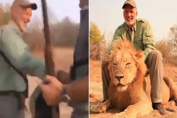 Κυνηγός σκότωσε λιοντάρι την ώρα που το ζώο κοιμόταν! Όταν είδε το βίντεο μετά έγινε... το απίθανο!