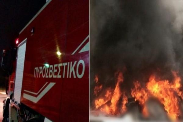 Θεσσαλονίκη: Ισχυρή φωτιά σε ξενοδοχείο!