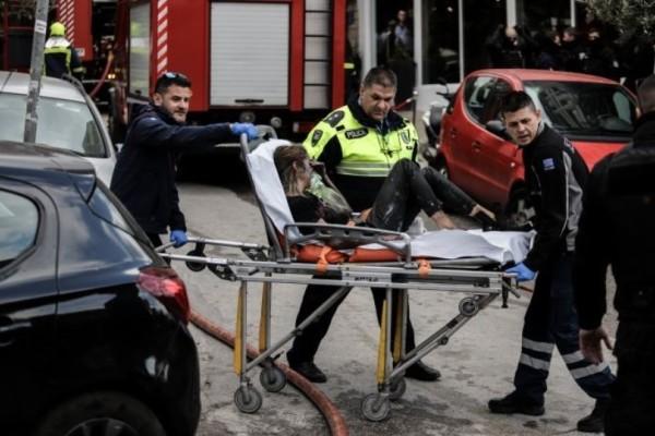 Φωτιά σε ξενοδοχείο στη Συγγρού: Διασωληνωμένη 24χρονη! (Video)