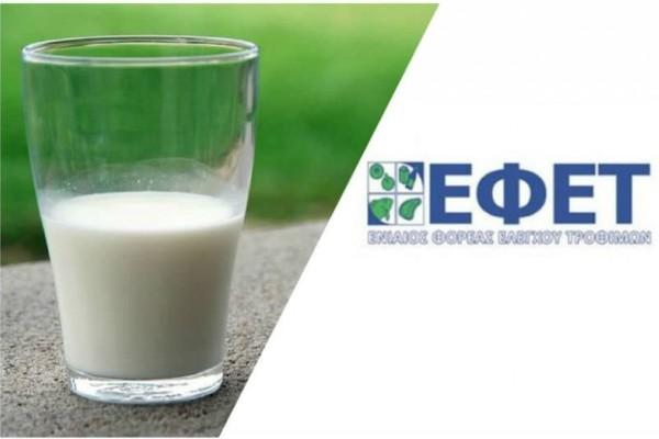 ΕΦΕΤ: Γάλατα θάνατος στην αγορά!