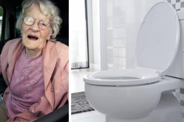 Γιαγιά μπήκε τουαλέτα να κάνει την ανάγκη της! 8 μέρες μετά έγινε το απίστευτο