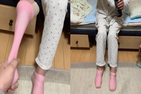 Γιαγιά μπέρδεψε τις κάλτσες με τα ερωτικά βοηθήματα του εγγονού της. Όταν τα «φόρεσε», δεν ήθελε να τα βγάλει