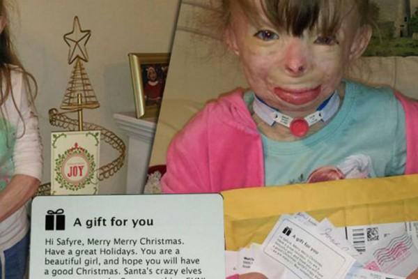 Ραγίζει καρδιές το ορφανό κοριτσάκι που ζητά για δώρο Χριστουγέννων ευχετήριες κάρτες!