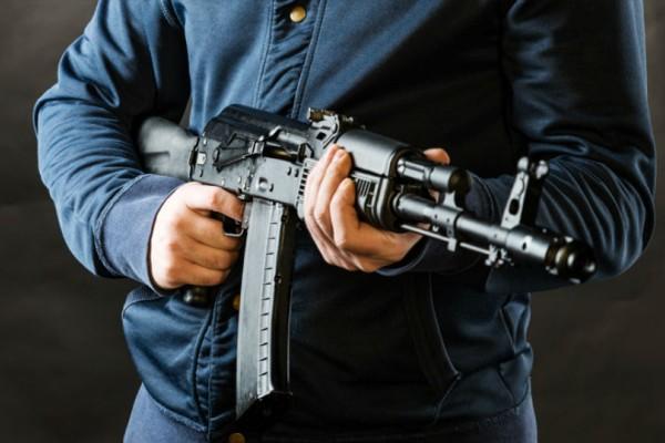 Δημαρχείο Αχαρνών: Κινηματογραφική ληστεία με καλάσνικοφ!