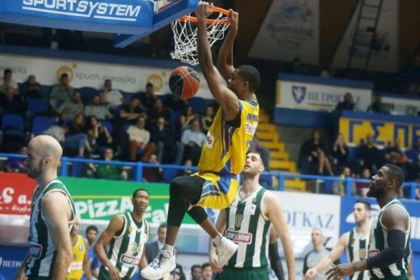 Basket League: Ανώμαλη προσγείωση στο Περιστέρι για τον Παναθηναϊκό!