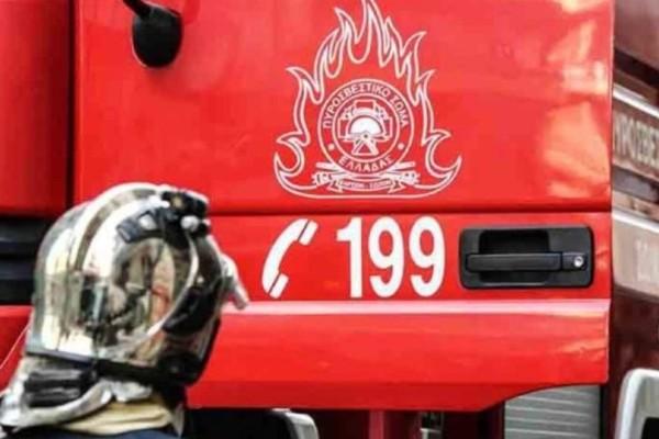 Φωτιά στον Βύρωνα! Ένας ηλικιωμένος έχασε την ζωή του!