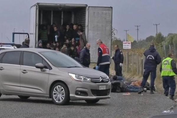 Φρίκη στη Λάρισα! Κλείδωσαν πρόσφυγες σε φορτηγό-ψυγείο!