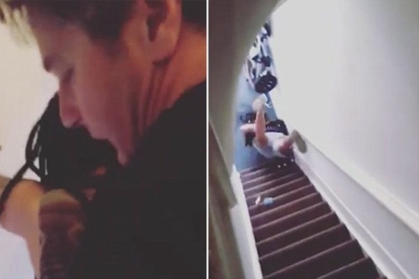 Την έπιασε από τα μαλλιά και την πέταξε από τις σκάλες! Ο λόγος; Εξοργιστικός!