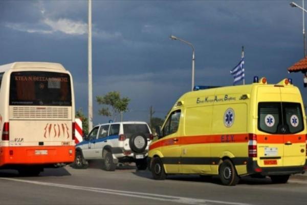 Σφοδρό τροχαίο με έναν τραυματία στο ύψος των ΚΤΕΛ Θεσσαλονίκης!