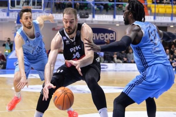 Basketball Champions League, ΠΑΟΚ- Μπρίντιτζι 93-91: