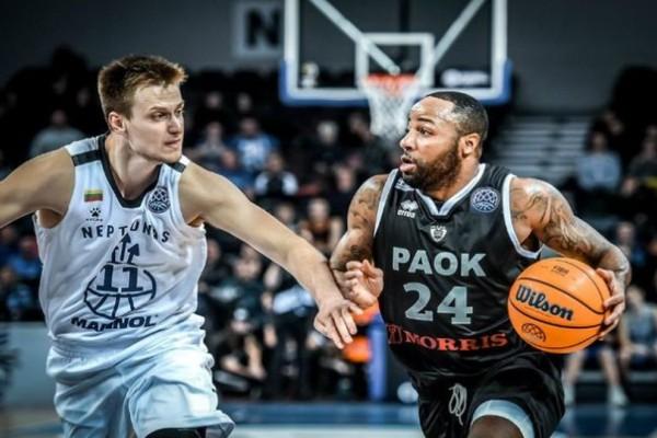 Basketball Champions League: Ο ΠΑΟΚ είναι εδώ! Τεράστιο διπλό στην Λιθουανία (video)
