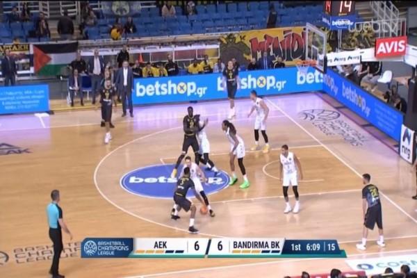 Basketball Champions League: Στραπάτσο για την ΑΕΚ μέσα στο ΟΑΚΑ! (Video)
