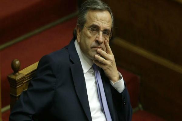 Προβλήματα για την ΝΔ! Απουσίασε ξανά από την ψηφοφορία ο Σαμαράς!