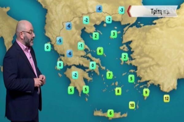 Σάκης Αρναούτογλου: Τεράστια προσοχή τις επόμενες ώρες! Έρχεται επιδείνωση στα νότια!