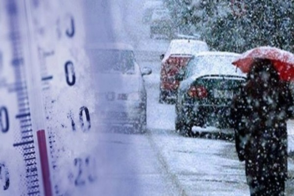 Καιρός: Χιόνια στην Αττική τα ξημερώματα! Σε ποιες περιοχές θα το «στρώσει»; (photo)
