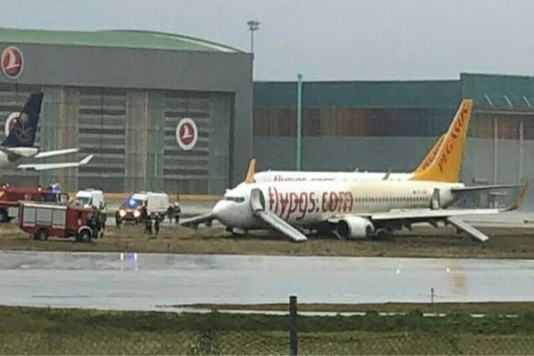 Συναγερμός σε αεροδρόμιο της Κωνσταντινούπολης! (Video)
