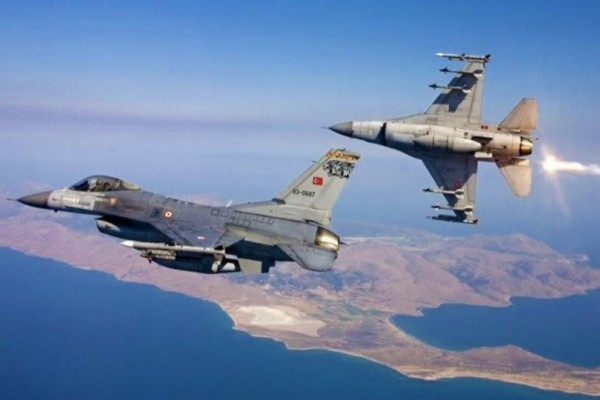 Συναγερμός στο Αιγαίο: Τουρκικά μαχητικά πάνω από Λέρο και Λειψούς! (Video)