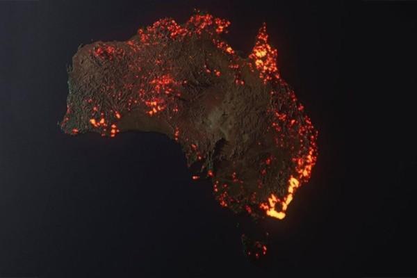 Αυστραλία: Η πύρινη κόλαση δεν έχει σταματημό! Συγκλονίζουν οι δορυφορικές φωτογραφίες!