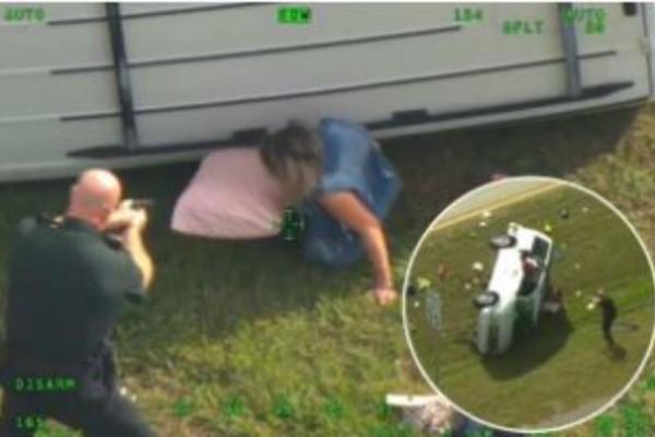 Φορτηγό διαπέρασε από πάνω αυτή την γυναίκα και τον σκύλο της. Η συνέχεια σοκάρει!