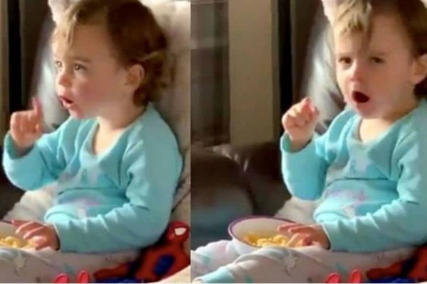 Η απίστευτη αντίδραση ενός 2χρονου κοριτσιού όταν είδε για πρώτη φορά το Χουλκ (video)!