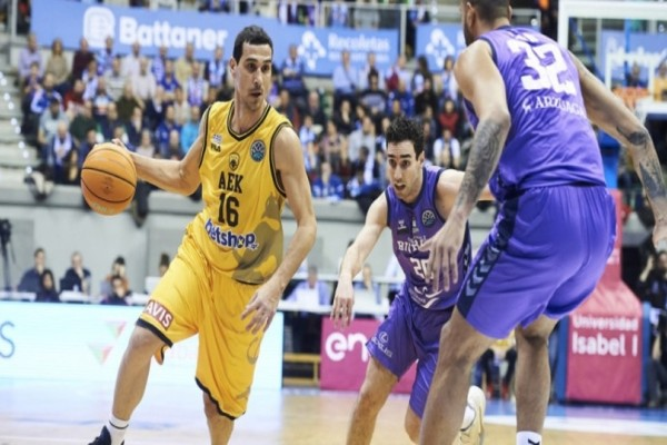 Basketball Champions League: Ήττα της ΑΕΚ απο την Μπούργος στην Ισπανία! (Video)