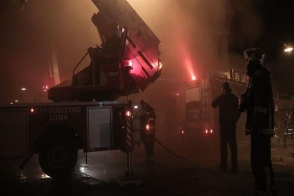 Συναγερμός στην Κατερίνη: Φωτιά σε εργοστάσιο!