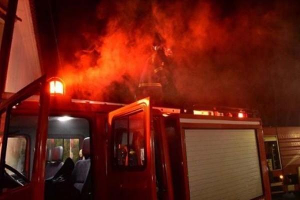 Φωτιά σε διαμέρισμα στο Μοσχάτο!