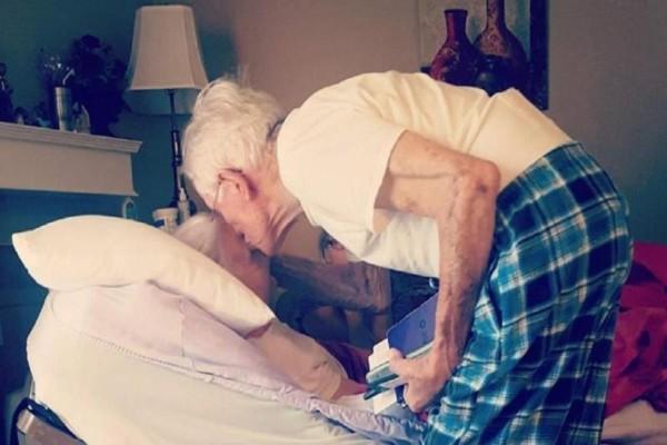 Η γιαγιά πέθανε ένα χρόνο πριν και ο παππούς της ψιθύρισε κάτι στο αυτί... Ένα χρόνο μετά συμβαίνει κάτι ανατριχιαστικό!