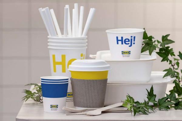 Η IKEA καταργεί τα πλαστικά μιας χρήσης!