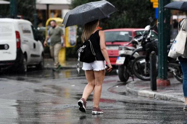 Άγρια επιδείνωση του καιρού: Ισχυρές καταιγίδες και χαλάζι! Έντονα φαινόμενα για 48 ώρες!